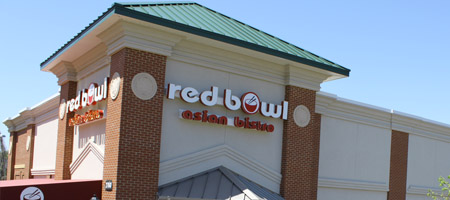 Asian red bowl columbia